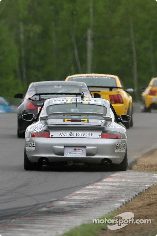 La Porsche 996 n°81 du G&W Motorsports (Tracy Krohn, Joe Fox)