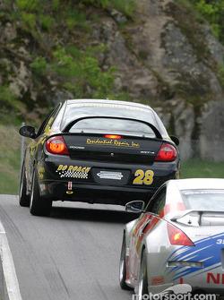 #28 Roach Racing Dodge SRT4: Bo Roach, Christian Kimball