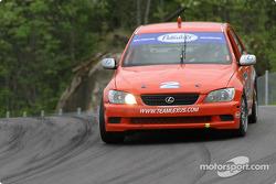 #2 Team Lexus Lexus IS300: Ian James, Chuck Goldsborough