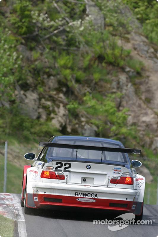 La BMW M3 n°22 du Prototype Technology Group (Justin Marks, Joey Hand)