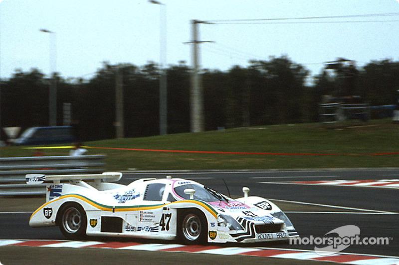 #47 Graff Racing Rondeau M482 Ford: Jean-Philippe Grand, Marc Menant, Jacques Goudchaux