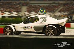 Felipe Massa na Race of Champions de 2004