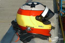 Adrian Carrio's helmet