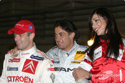 Sébastien Loeb and Jean Alesi
