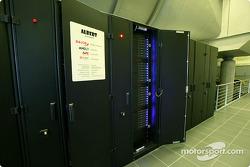 Albert, la nueva súper computadora para cálculos de CFD en la sede de Sauber en Hinwil