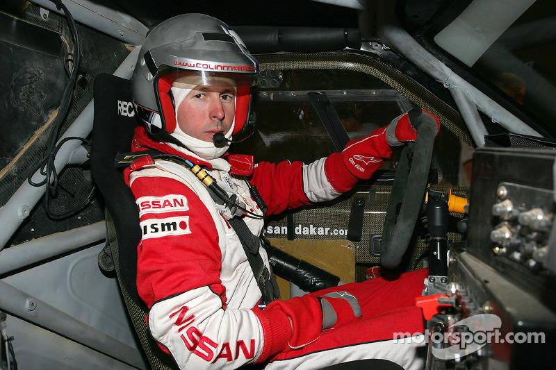 Colin McRae bei der Rallye Dakar