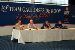 Team de Rooy presentation: press conference with Jan de Rooy and Gerard de Rooy