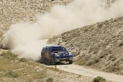 Volkswagen test in Turkey: Bruno Saby and Michel Périn