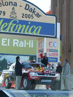 Ari Vatanen and Tiziano Siviero