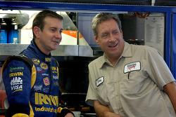 Kurt Busch and Jimmie Fenig