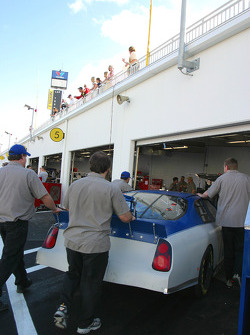 Napa Chevrolet garage area