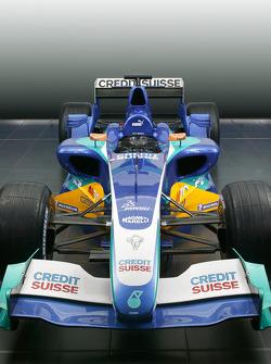 The new Sauber Petronas C24