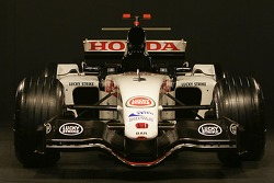 Front of the new BAR Honda 007