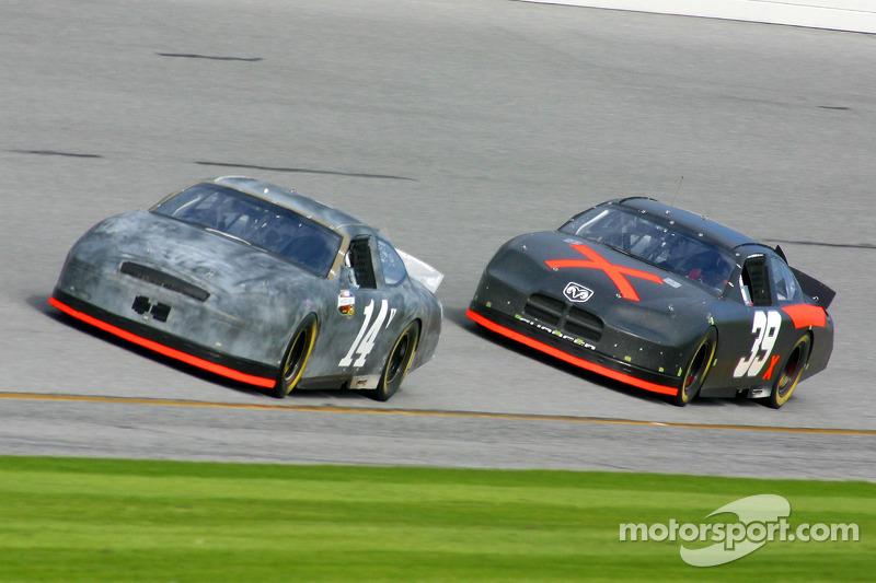 John Andretti and Bill Elliott