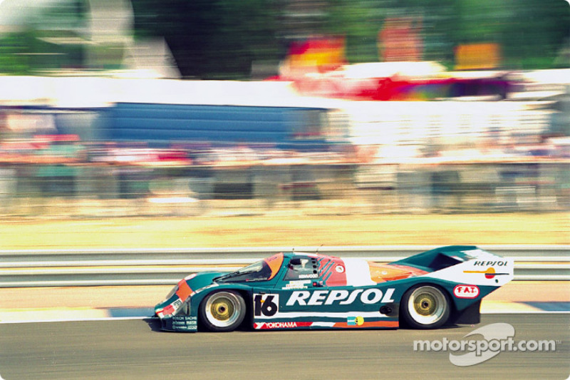#16 Brun Motorsport Porsche 962C: Oscar Larrauri, Jésus Pareja, Walter Brun