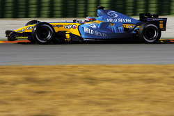 Fernando Alonso the new Renault R25