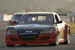 #08 Goldin Brothers Racing Mazda RX-8: Steve Goldin, Keith Goldin, Scott Finlay, Martin Shuster