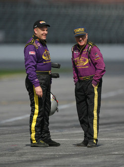 Andy Hillenburg and Dave Marcis