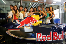 Las chicas Red Bull fórmula uno