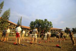 BAR challenge at Mount Kinabalu in Borneo