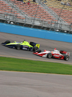 Vitor Meira and Ryan Briscoe