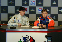 Al Unser and Marco Andretti