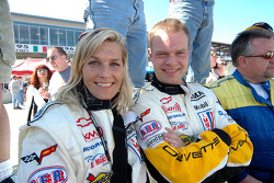 Jan Magnussen and his lovely wife