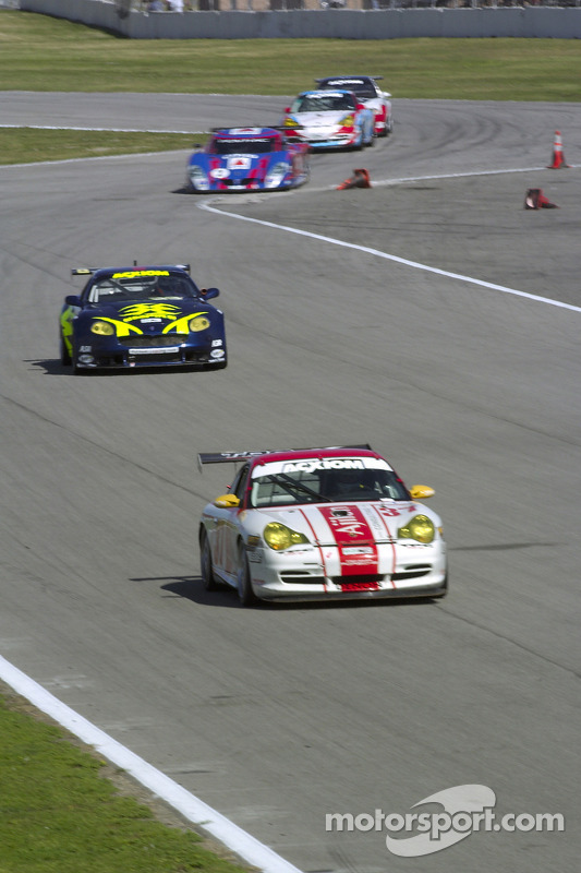 La Porsche GT3 Cup n°37 du TPC Racing : John Littlechild, Spencer Pumpelly