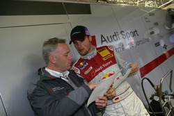 Martin Tomczyk and race engineer Paul Thomas