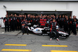 Family pictures for Christijan Albers, Patrick Friesacher, Chanock Nissany, Paul Stoddart, Giancarlo Minardi and Minardi team members