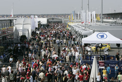 78,000 spectators showed up at EuroSpeedway Lausitzring