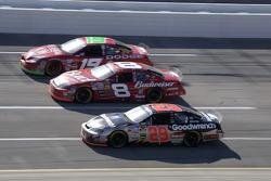 Jeremy Mayfield, Dale Earnhardt Jr. and Kevin Harvick