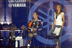 Colin Edwards with his wife