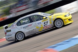 #57 SEAT Sport UK SEAT Toledo Cupra of Luke Hines in race 3
