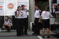 BAR-Honda team members out of work