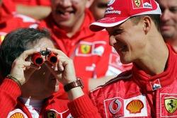 Ferrari photoshoot: Jean Todt and Michael Schumacher