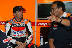 Max Biaggi with Erv Kanemoto