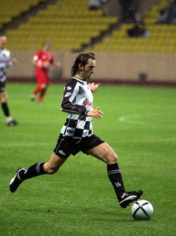Charity Soccer at the Stade Louis 2, with Prince Albert II of Monaco: Jarno Trulli