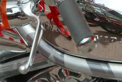 Detail of Michael Schumacher's Harley-Davidson