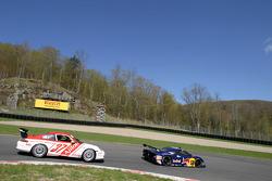 #58 Red Bull/ Brumos Racing Porsche Fabcar: David Donohue, Darren Law, Sascha Maassen, #37 TPC Racing Porsche GT3 Cup: John Littlechild, Spencer Pumpelly