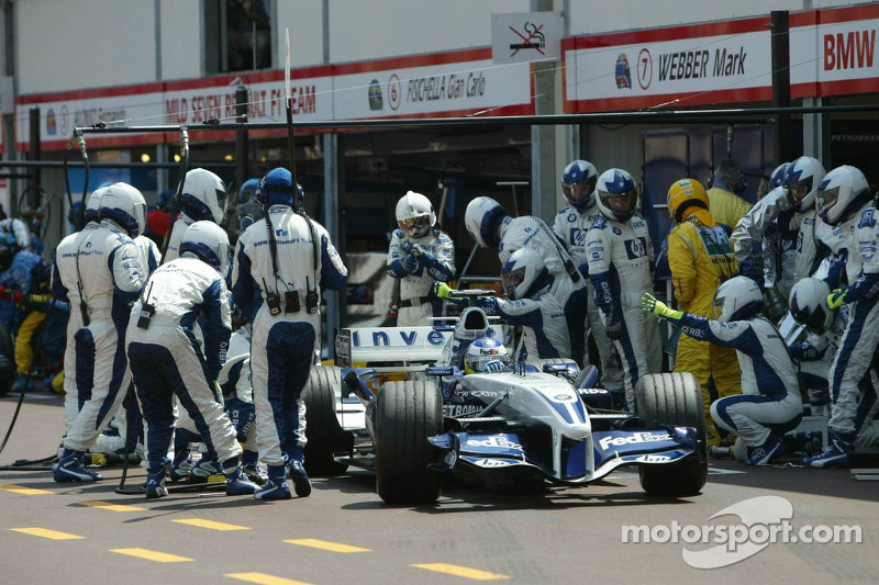 Pitstop for Nick Heidfeld
