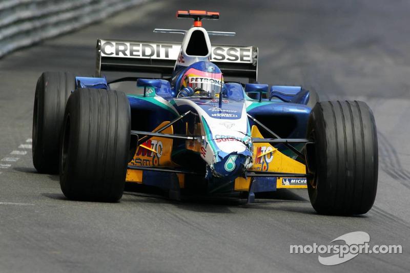 Jacques Villeneuve sin ala delantera