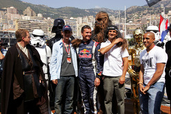 David Coulthard, Vitantonio Liuzzi and friends