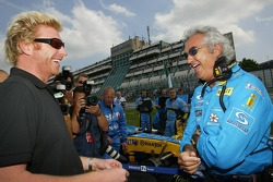 Boris Becker and Flavio Briatore