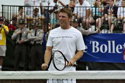 Tennis exhibition match: Jamie McMurray