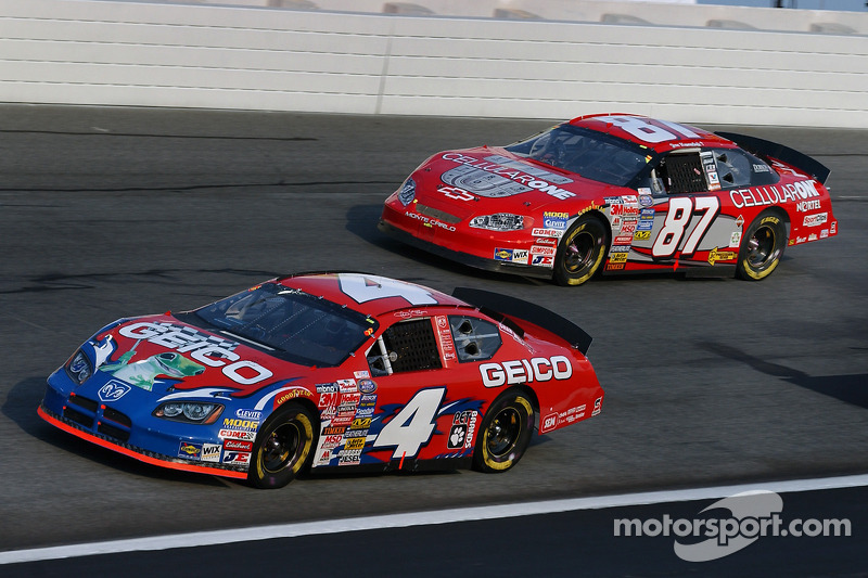 Jeff Green y Joe Nemechek