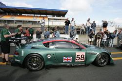Aston Martin DBR9 at scrutineering