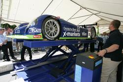Rollcentre Racing Dallara Judd at stage 2