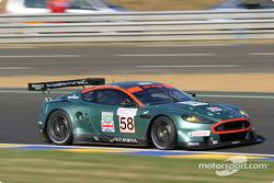 #58 Aston Martin Racing Aston Martin DBR9: Tomas Enge, Peter Kox, Pedro Lamy