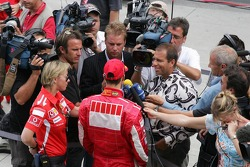 Michael Schumacher after the press conference